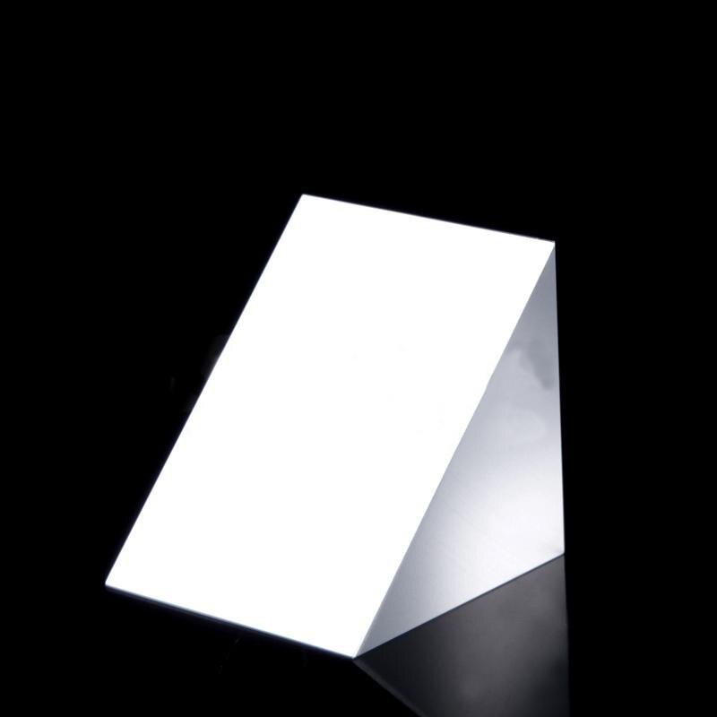 40x40x40mm Optical Glass Triangular Lsosceles K9 Prism With Reflecting Film Medicine40x40x40mm Optical Glass Triangular Lsosceles K9 Prism With Reflecting Film Medicine