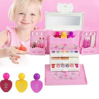 Princess Pretend Play Children Beauty Gift Makeup Car Children's Makeup Toy Princess Cosmetics Set Toy Make Up Kits