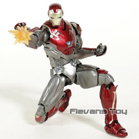 SHF S.H. Figuarts Avengers Infinity War Iron Man Mk47 PVC Action Figure Collectible Model Toy