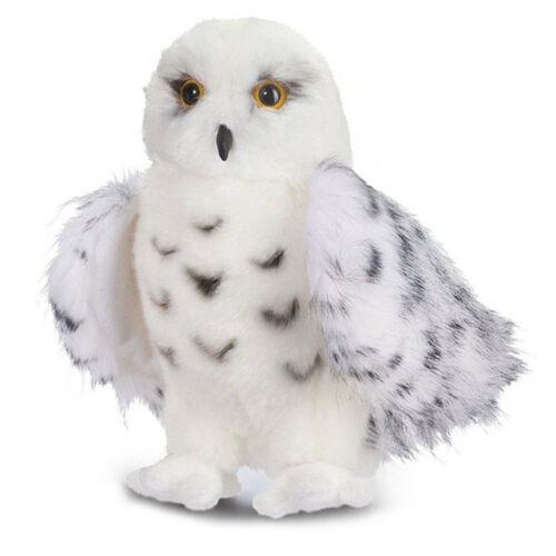 Cute Wizard SNOWY OWL Plush Toy Stuffed Animal Hedwig Potter Owl 8