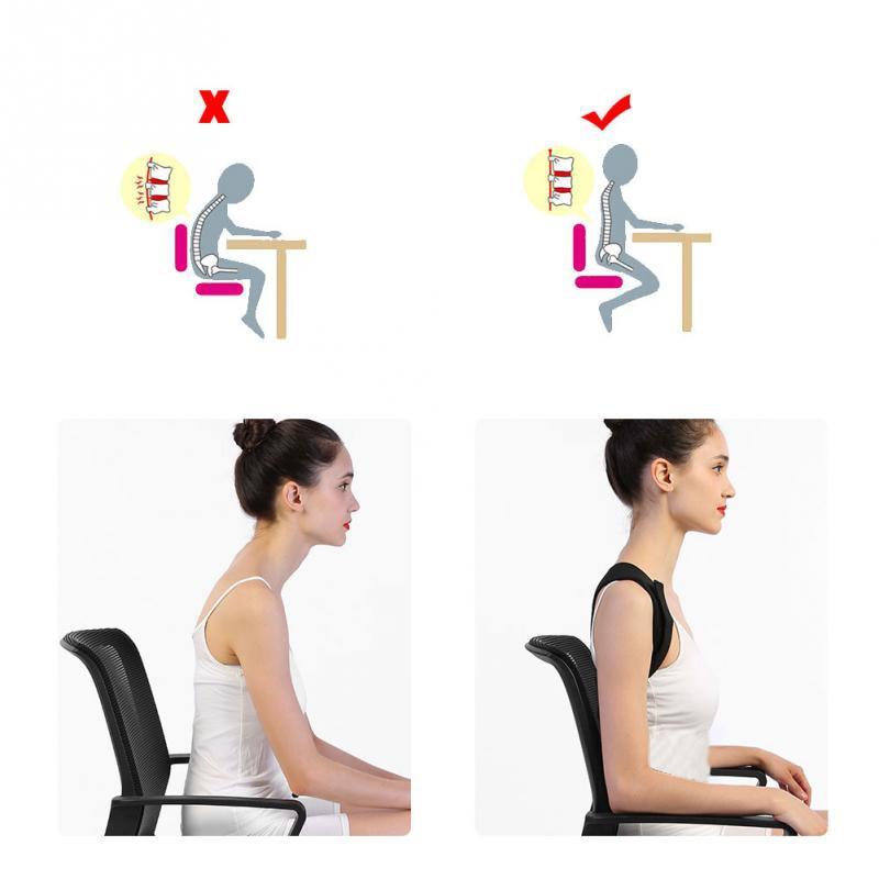 Spine Posture Corrector Back Support Belt Shoulder Bandage Back Spine Posture Correction Humpback Band Corrector Pain Relief 3