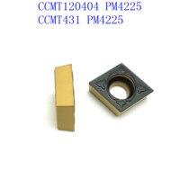 קרביד הכנס הפיכת כלי CCMT120404 PM4225 קרביד הכנס כלי, חוץ מחרטת CNC הפעיל כלי, פנימית הפיכת כלי, כלי כרסום מכונת כרסום (4)