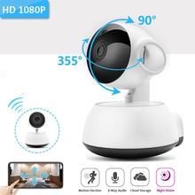 HD 1080 P Беспроводная ip-камера для домашнего видеонаблюдения панорамная двухсторонняя аудио ночного видения CCTV WiFi IP Cam детский монитор