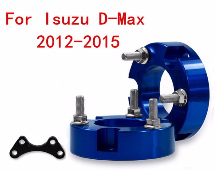 4x4 Accesorios 32mm Suspension lift Kits Front Coil Strut Shock Spacer for New D-MAX / Colorado 2012+