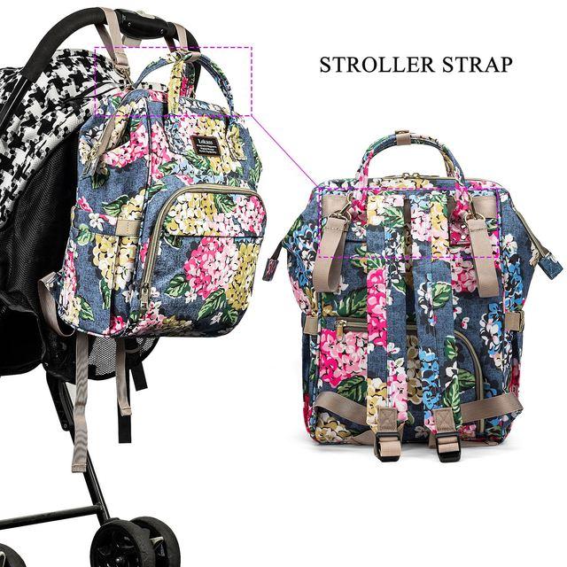 CoolBELL Baby Luiertas Fashion Mummy Moederschap Luiertas Grote Capaciteit Rugzak Babyverzorging Verpleging Kinderwagen Tassen 1