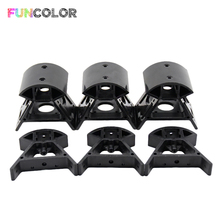 6pcs/set Delta Rostock Injection Molding Mount Delta Aluminum for 3D Printer Rostock Kossel K800 ABS Injection Molding Frame Kit стоимость