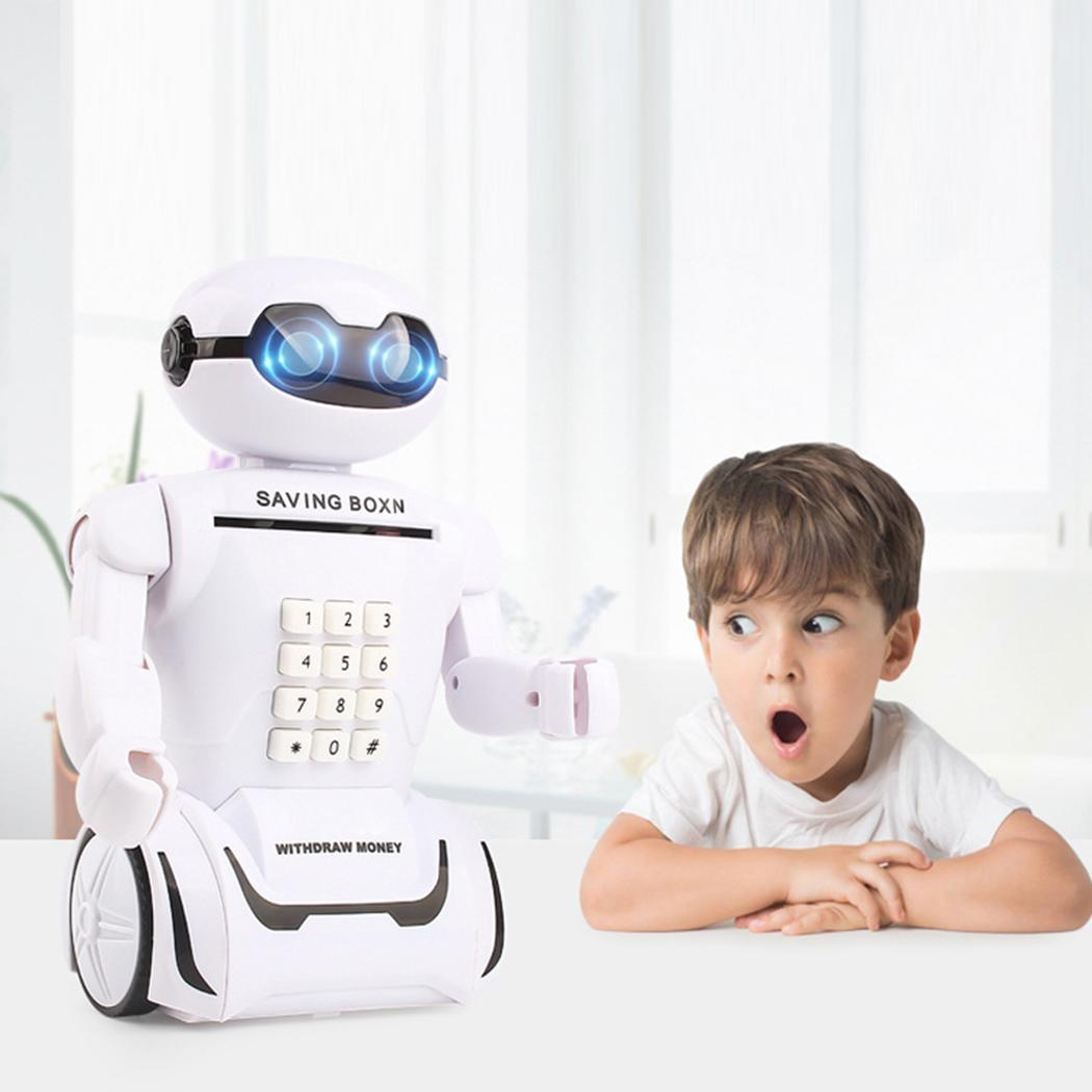 ATM 0 Bank Above 6kg Lamp Password Robot Battery 3 Toy Whtie Piggy Lithium old Table Multi-functional Music years