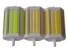 10pcs/lot Dimmable COB 118mm led R7S light 30w R7S bulb lamp without fan J118 R7S RX7S replace 300w halogen lamp 110-240V цена