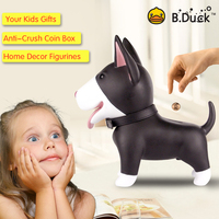 Dog Piggy Bank Doggy Money Box Cute Cartoon Animal Save Money Deposit Box Decorative Figurines Toys Children Christmas Gift Kids