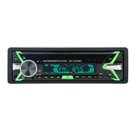 HEVXM 12V Bluetooth Auto Car Radio 1 din Stereo Audio MP3 Player FM Radio Receiver Support Aux Input SD USB MMC Remote Control