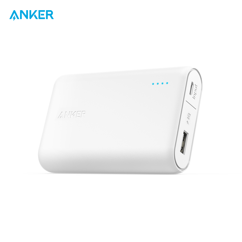 External Battery Pack Anker A1263 charging device charger quick charge anchor lcd 5 10 15 20a autoswitch solar panel battery regulator charge controller 12v 24v