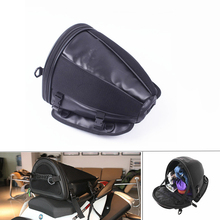 цена на Motorcycle Sport Tail Bag Back Seat Storage Carry Bag Hand Shoulder Bag Waterproof Oxford fabric and Synthetic Leather