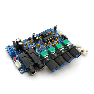 Image 2 - PT2399 Digital Microphone Amplifier Board Karaoke Reverberation Board Karaoke OK Amplifier Module Dual AC12V