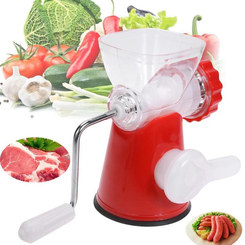 Manuel Hachoir à viande hachoir Coupe-ail Cutter Twist Shredder Food Processor