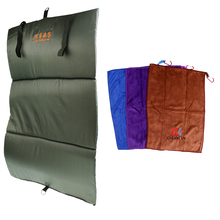 Quick Dry Non-stick Bait Fishing Towel With Buckles + Foldable Unhooking Mat цена и фото