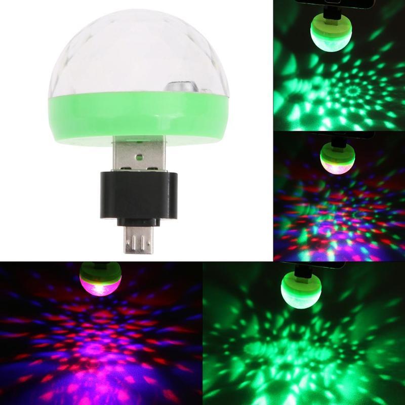 Home Disco Lights: Mini USB LED Party Light Disco Light Stage Lighting Effect