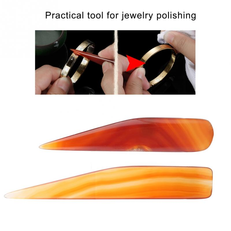 Professional Magic Faux Agate Knife Burnisher Hand Polishing Tool for Gold And Sliver High in Quality Resin Mold Jewelry Tool