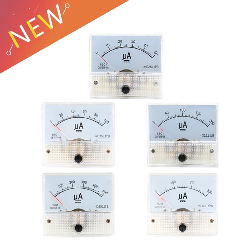Dc 550ua 100ua 200ua 300ua 500ua Analog Ammeter Panel