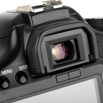 Nowy śladu środowiskowego wizjer gumowa muszla oczna okularu muszla oczna dla Canon 650D 600D 550D 500D 450D 1100D 1000D 400D SLR zestaw do kamery akcesoria i tanie i dobre opinie Woopower