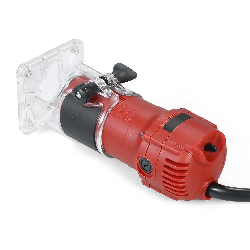 850W 30000rpm tondeuse électrique à bois fraisage gravure Machine de découpage à rainurer main sculpture Machine bois routeur - 2