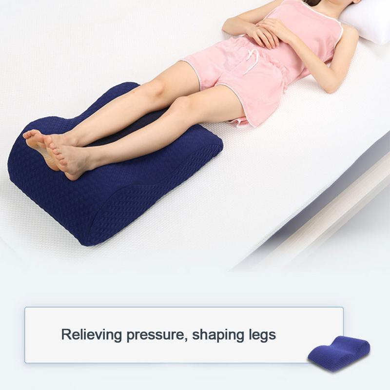 Memory Foam Pillows Knee Support Pillow Right Sleeping Posture Reduced Lower Back Hips Knee Joint Pain