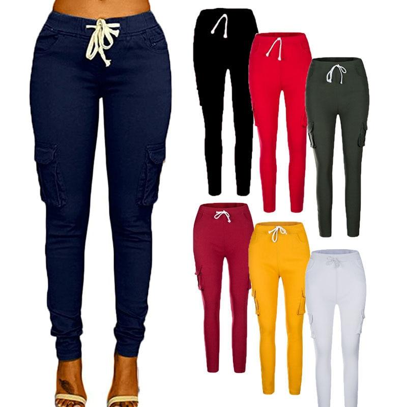 2018 Neue Herbst Bleistift Hosen Vintage Hohe Taille Jeans Neue Frauen Hosen Voller Länge Hosen Lose Ccowboy Hosen Plus Größe 5xl 6xl
