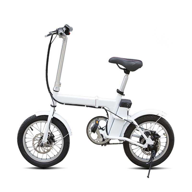daibot 16 inch mini electric scooter two wheels brushless motor 250w 36v portable foldable. Black Bedroom Furniture Sets. Home Design Ideas