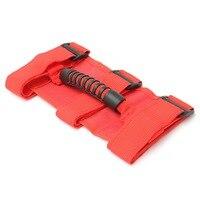 Sport Roll Bar Grab Handles Red For Jeep/Wrangler/YJ/TJ/JK/Brutus/Premium 1955-2016 Left/Right/Front