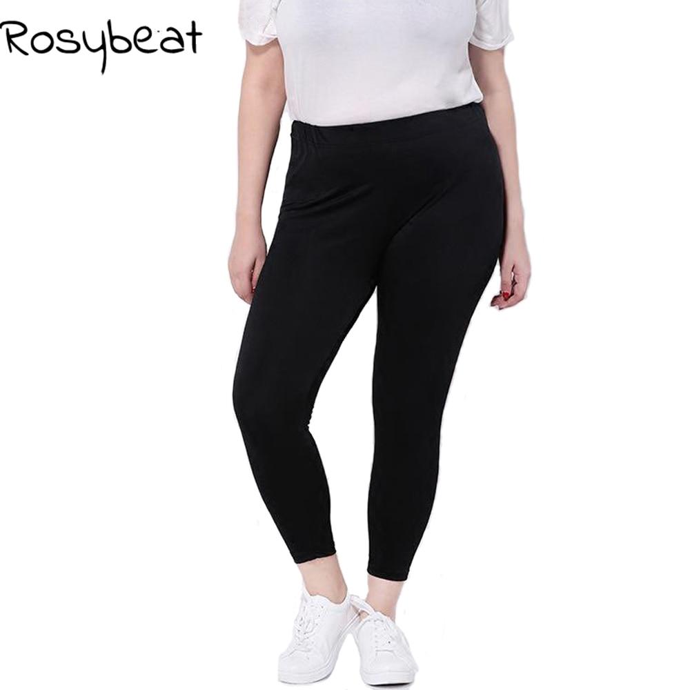 Women Leggings Plus Size 5xl 6xl Big Sizes Women Clothing Large Slim Legging Pants 3xl Women Leggins Black Capris 9th 4XL gloss