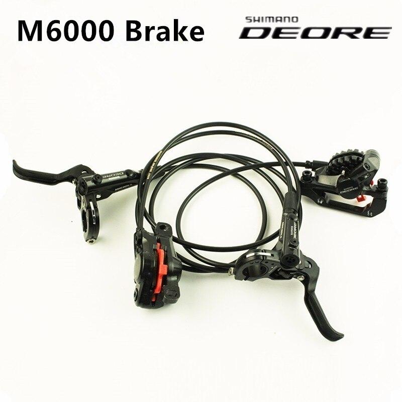 Shimano DEORE BR BL M6000 frein vtt frein à disque hydraulique vtt DEORE frein 800/1400 gauche droite pièces de vélo