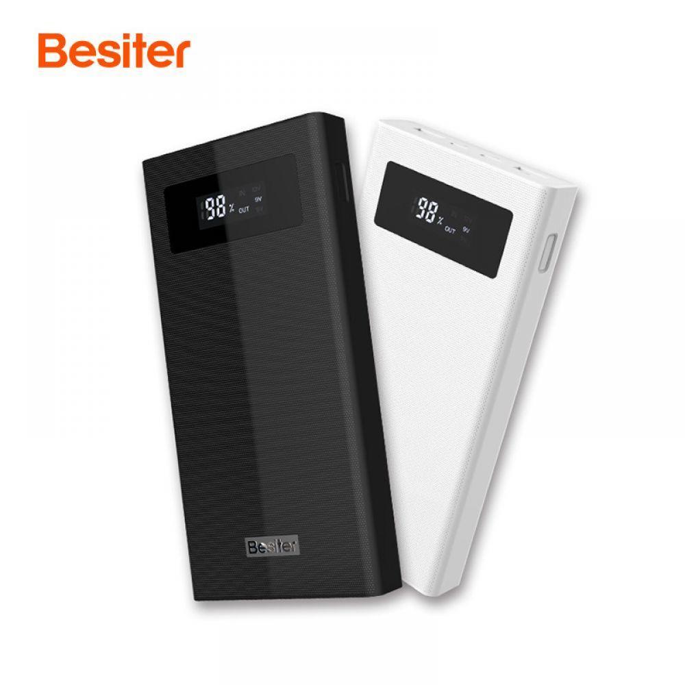 Besiter Puissance Banque 20000 mAh Pour Mi 2 Charge Rapide 3.0 PowerBank Portable Chargeur Externe Batterie Pour Pau Banque