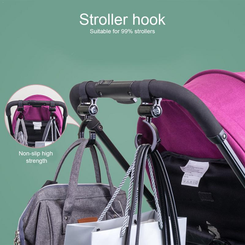2 Pcs Lot Baby Stroller Accessories Hook Multifunction