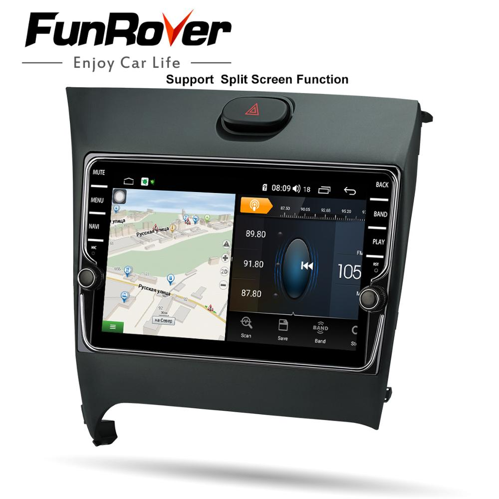 Funrover Octa 8 Core autoradio Multimédia Android8.1 Pour Kia K3 Cerato Forte 2012-2016 de navigation de gps de voiture Bluetooth 4 GSIM Pas de dvd - 4