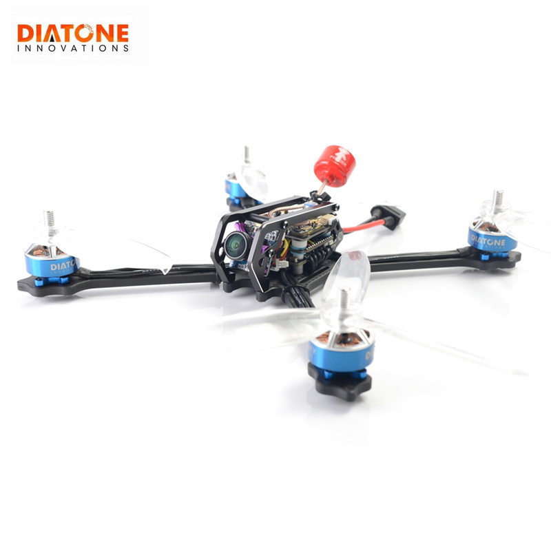 Diatone GT M515 FPV Racing Drone PNP W/ Integrated Type F4 8K OSD Runcam Micro Sparrow 2 TBS 800mW DIY RC Racer Quadcopter