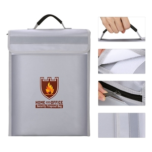 Image 3 - حريق حقيبة مستندات حامل الحقيبة الرئيسية مكتب حقيبة آمنة النار مقاومة للماء مجلد ملفات حقيبة التخزين الآمن