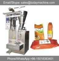 Granules packaging machine for coffee, sugar, medical pills, food stuffs, plant seeds, washing powder