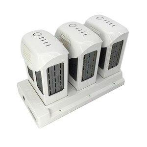 Image 2 - Phantom 4, concentrador de carga de batería 3 en 1, cargador inteligente de batería para DJI Phantom4