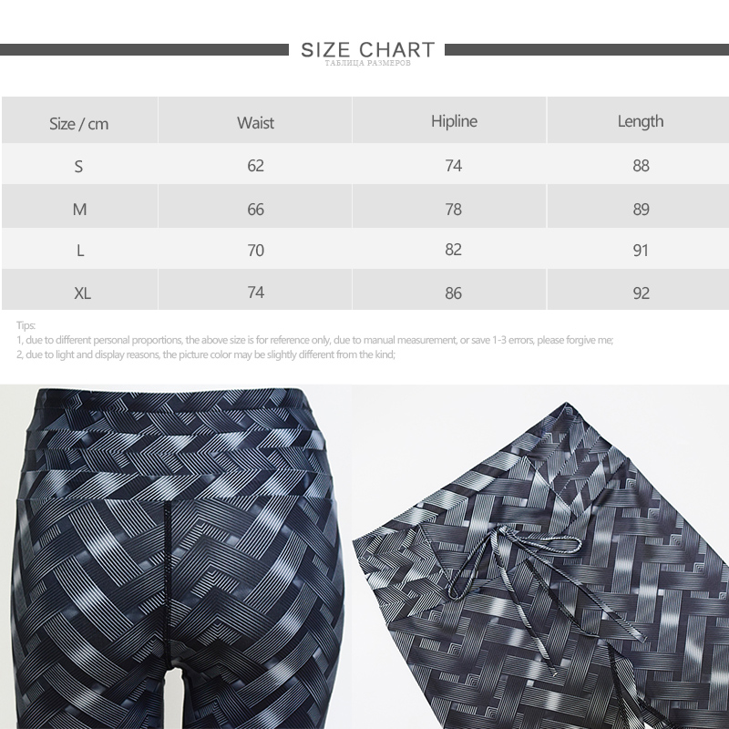 Women Yoga Pants High Waist Leggings Leaf Print Sexy Female Sport Clothing Workout Breathable Sportswear Hip Push Up Black Pants in Yoga Pants from Sports Entertainment