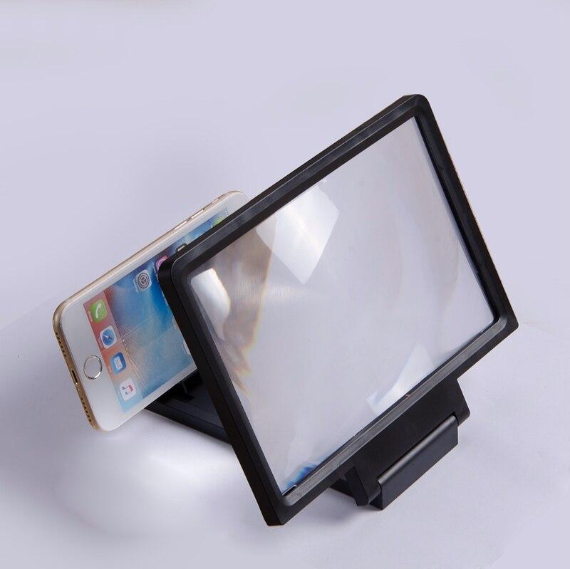 100% QualitäT Neue Universal Lupe Glas 3d Film Bildschirm Hd Verstärker Für Smart Telefon Bequem Und Einfach Zu Tragen