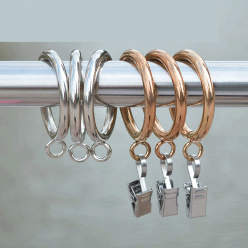 Permalink to Metal Hanging Ring Curtain Decorative Accessories Curtain Rings Curtain Hooks Accessories Curtain Clips Tools Home Decor