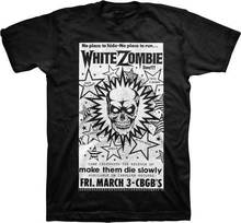 WHITE ZOMBIE - CBGB Poster - T SHIRT S-M-L-XL-2XL Brand New Official Rob Zombie