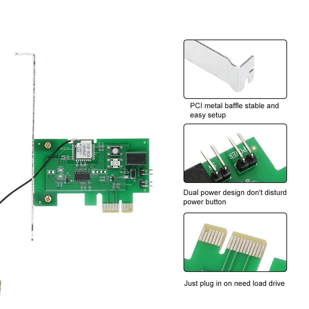 Image 4 - EWeLink Mini PCI e pulpit pc pilot przełącznik karty WiFi bezprzewodowy inteligentny przełącznik moduł przekaźnika bezprzewodowy dla inteligentnego domuAutomatyzacja budynków   -