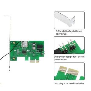 Image 4 - eWeLink Mini PCI e Desktop PC Remote Control Switch Card WiFi Wireless Smart Switch Relay Module Wireless for Smart Home