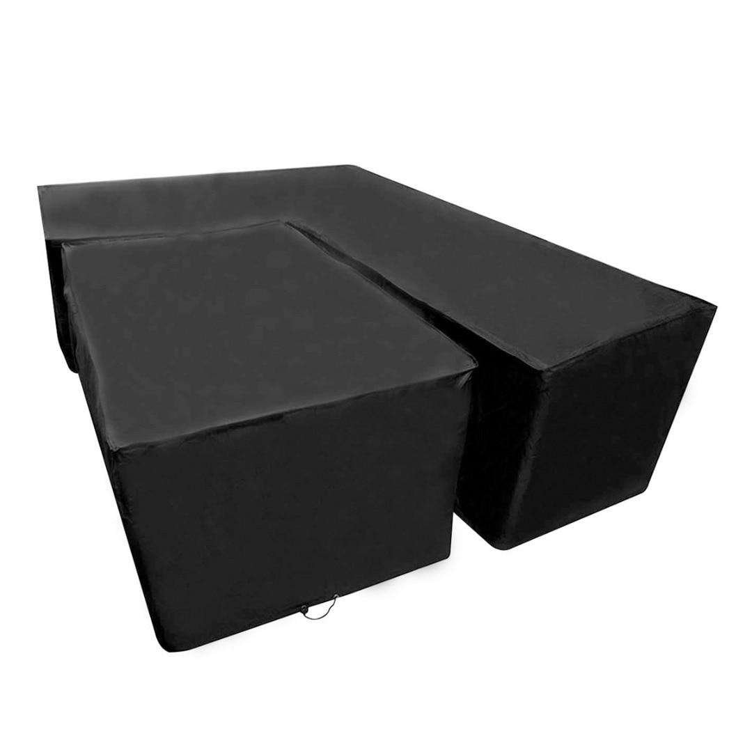 2 taille L forme étanche à la poussière couverture de meubles de jardin canapé extérieur protéger tous les usages-couverture