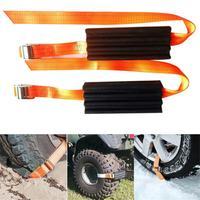 Car Accessories 2 PCS Car Universal Wear Resistant Tire Anti Skid Block Vehicle Emergency Snow Chain