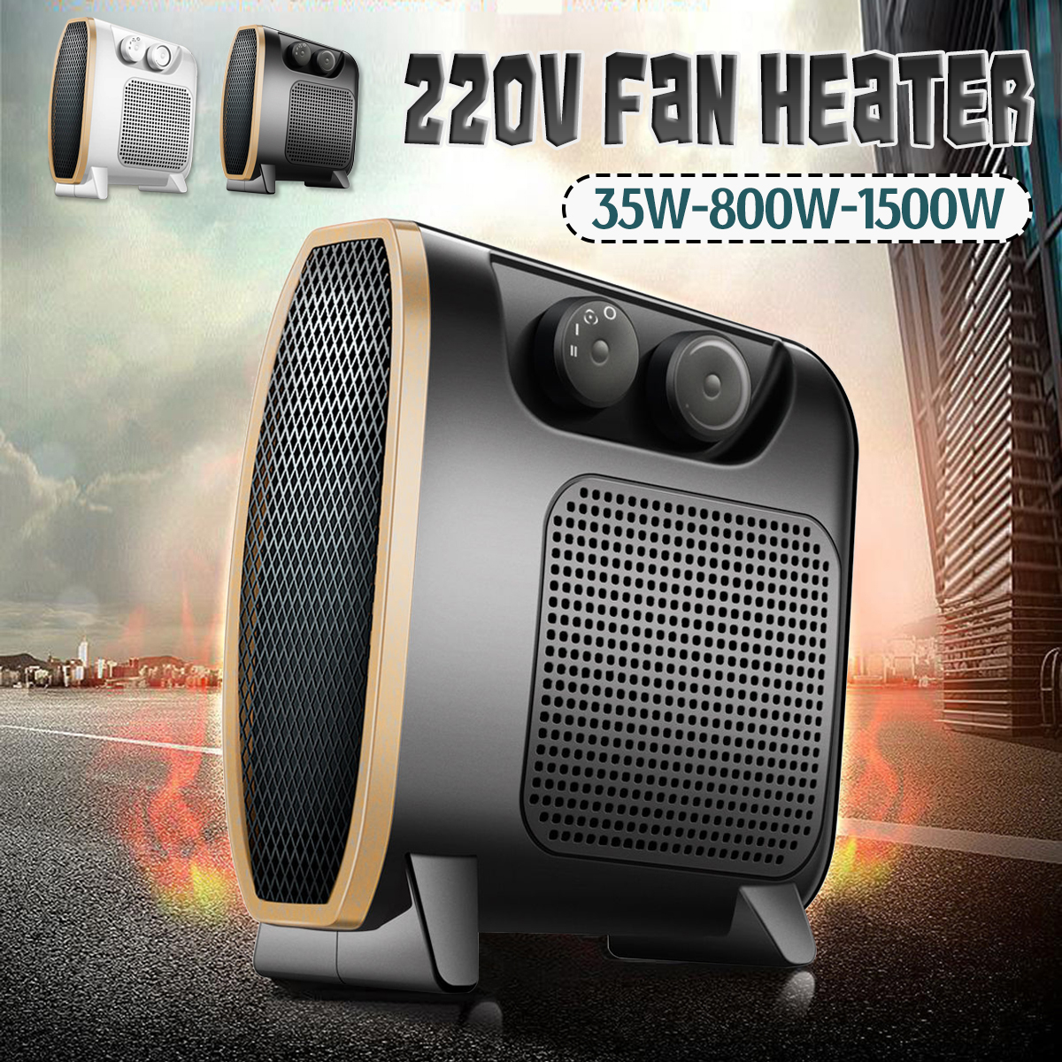 220V 35-800-1500W Electric Heater Mini Fan Heater Desktop Household Handy Heater Stove Radiator Warmer Machine For Winter cute mini fan heater desktop household electric heater fast handy heater warm machine for winter small desktop heater