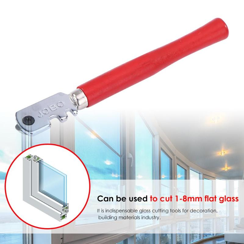 130mm Professional Portable Diamond Tipped Glass Tile Cutter Multifunctional Window Roller Craft Hard Alloy Hand Cutting Tool