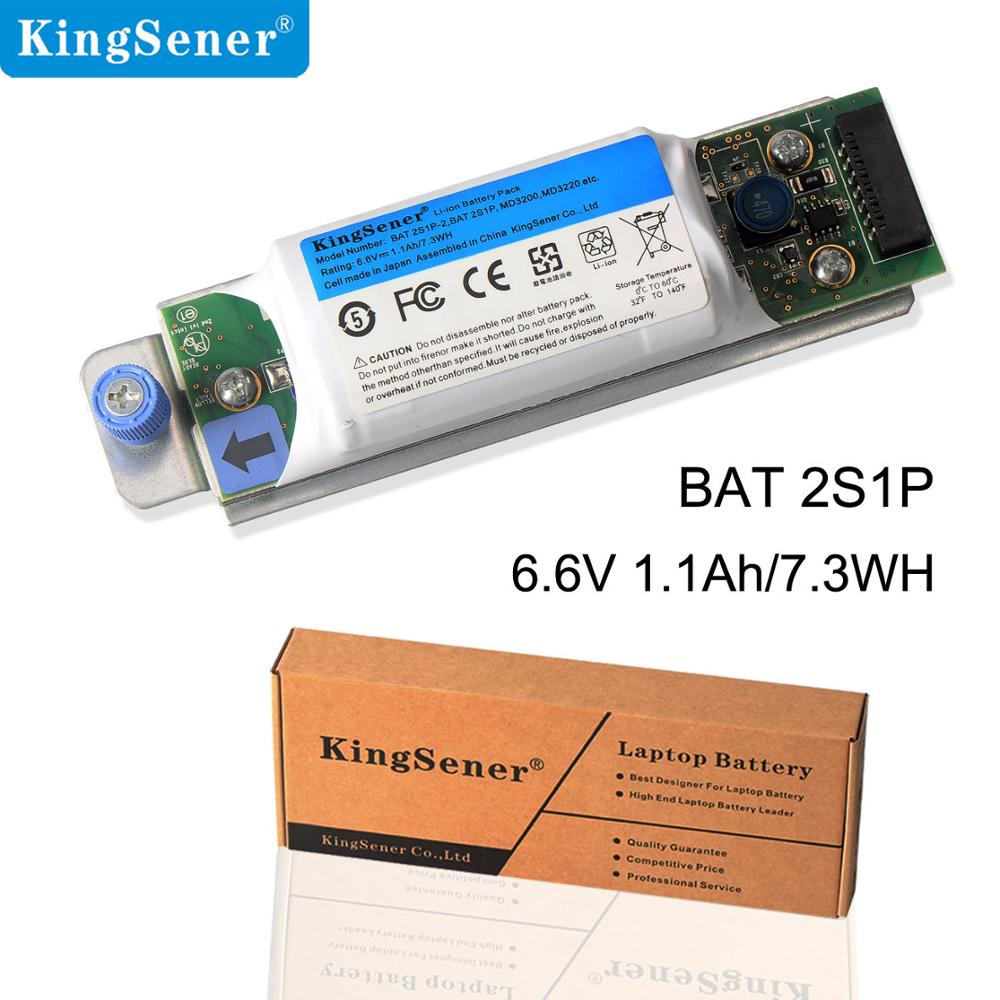 KingSener New BAT 2S1P-2 Battery for DELL Raid Controller PowerVault MD3200 MD3200i MD3220i 0D668J BAT 2S1P 6.6V 1.1Ah/7.3WHKingSener New BAT 2S1P-2 Battery for DELL Raid Controller PowerVault MD3200 MD3200i MD3220i 0D668J BAT 2S1P 6.6V 1.1Ah/7.3WH