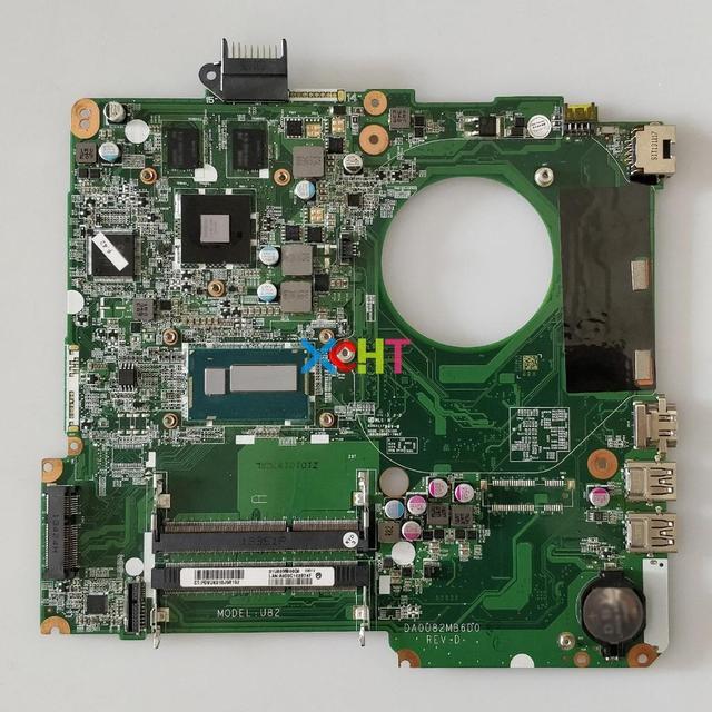 737669 501 737669 601 DA0U82MB6D0 w HD8670M/1GB GPU i5 4200U CPU for HP Pavilion 15 n Series NoteBook PC Laptop Motherboard
