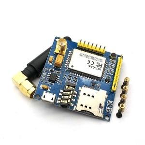 Image 2 - SIM900 A6 GPRS Pro Serielle GPRS GSM Modul Core DIY Developemnt Bord TTL RS232 Mit Antenne GPRS Wireless Modul Daten ersetzen
